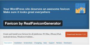 RealFaviconGeneratorでWordPress(ワードプレス)にファビコンを設定する方法